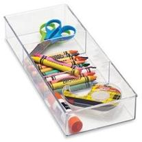 Small 3 Section Drawer Organizer