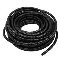 E Support 3/8 Inch 20 Feet Split Loom Wire Flexible Tubing