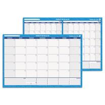 Recycled 30/60-Day Undated Horizontal Erasable Wall Planner