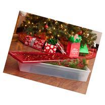 "IRIS 30"" Gift Wrap Storage Box, Red"