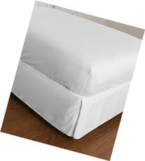 Warm Things Home 300 Egyptian Cotton Fitted Sheet White Twin