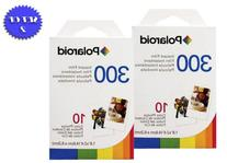 2 Pack Of Polaroid PIF-300 Instant Film for 300 Series