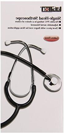 Lumiscope 300dlx Single Head Stethoscope, Black