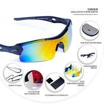 RIVBOS 305 Polarized Sports Sunglasses Glasses with 5