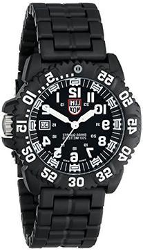 Luminox Men's 3052 Colormark Navy Seal Black Resin Watch