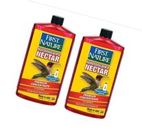 2 Pk First Nature 3054 Red Hummingbird Nectar 2- 32 Oz