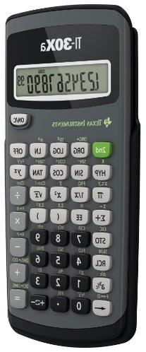 Texas Instruments 30Xa Battery Scientific Calculator 30XA/