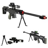 315 FPS Airsoft Sniper Rifle Gun wScope and BBs