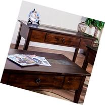 "Sunny Designs 3176DC-S Santa Fe 18"" Sofa/Console Table in"