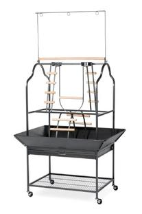 Prevue Hendryx 3180 Pet Products Parrot Playstand, Black