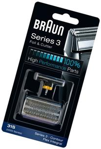 Braun 31S Replacement Foil and Cutter Cassette Multi Silver
