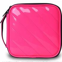 32 Capacity Pu Leather Cover CD / DVD Wallet, Various Colors