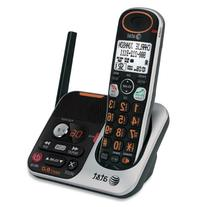 AT&T 32100 DECT 6.0 Cordless Phone, Silver/Black, 1 Handset