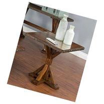 Sunny Designs 3235VM-E Tuscany End Table in Vintage Mocha