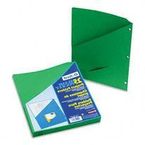 Pendaflex 32925 Essentials Slash Pocket Project Folders,
