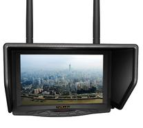 "LILLIPUT 7"" 329DW Dual receiver 5.8Ghz 4 Bands 32Channels"