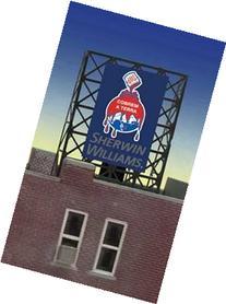 33-8935 N & Z scale Sherwin Williams billboard by Miller