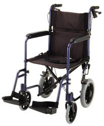 "NOVA Medical Products 19"" Lightweight Transport Chair with"