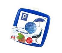 Miniland Educational 35251 Puzzle Blue Color
