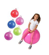 """36"""" Knobby Bouncy Ball with Handle"""