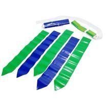 WYZworks 36 Flags & 12 Belts - Velcro Flag Football Set - 18