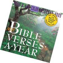 365 Bible Verses-A-Year Page-A-Day Calendar 2009  Calendars