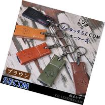no-touch SECOM key case  leather / oil leather