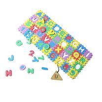 36pcs 0-9 Number A-Z Letters Puzzle Mat Alphabet Puzzle Foam