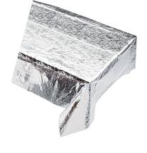 Creative Converting Metallic Silver Metallic Tablecover 54 x