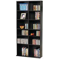 Atlantic Oskar Adjustable Media Cabinet - Holds 464 CDs, 228