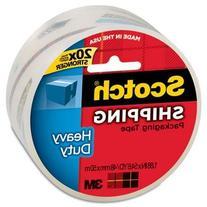 """Scotch 3850 Heavy-Duty Packaging Tape, 2"""" X 55Yds, Clear,"""