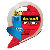 "3M 3850-RD 1.88"" X 163.8"" Clear Shipping Packaging Tape With"