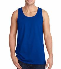 FOL 39TK Adult Heavy Cotton Tank Top, Royal, 3XL
