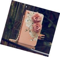 3D Rose FLOWER Beautiful Cute Camellia Handbag Leather