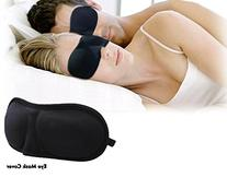 3D Eye Mask Shade Cover Rest Sleep Eyepatch Blindfold Shield