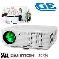 CAIWEI WiFi Android 3600 Lumens HD LED Digital Projector