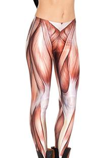 Roseate Women's 3D Digital Print Leggings Workout Running