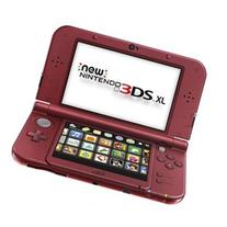 Nintendo New 3DS XL Handheld Video Game Console System - Red