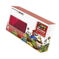 Nintendo 3DS Holiday Bundle - Flame Red with Super Mario 3D