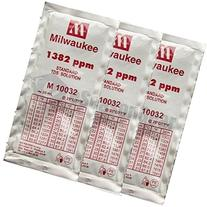 3x 20ml 1382 ppm TDS Calibration Solution Sachet, Milwaukee