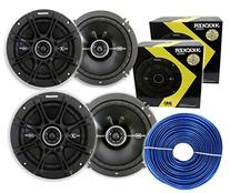 "4 Kicker 41DSC654 6.5"" 480 Watt 2-Way  + Free 18 Gauge 50ft"