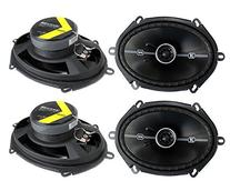 4 Kicker 41DSC684 D-Series 6x8 400 Watt 2-Way 4-Ohm Car