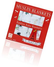 4 COUNT!!! - Bamboo Muslin Receiving Swaddle Baby Blankets