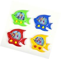 "4 ~ Handheld Water Ring Games ~ Fish Theme ~ Approx. 5"" ~"