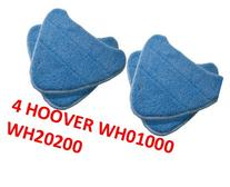 4 PACK Hoover Steam Mop Pads Compatible WH20200 Steam Mop #