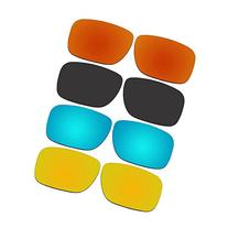 4 Pair ACOMPATIBLE Replacement Lenses for Oakley Holbrook