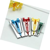 4 Bias Tape Fabric Maker Foot Awl Tool Set 6mm/12mm/18mm/