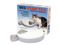 Cat Mate 4 Day Automatic Pet Feeder, White