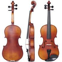 Vif 4/4 Handmade Stradivari Copy Style Violin Fiddle Case