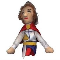 4 Joan Of Arc Jeanne D'arc Magnetic Plush Finger Puppet